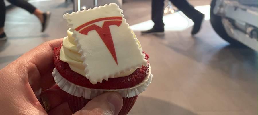 Smarriga Tesla-cupcakes