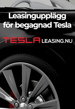 Test drive of a petrol car - Tesla Club Sweden
