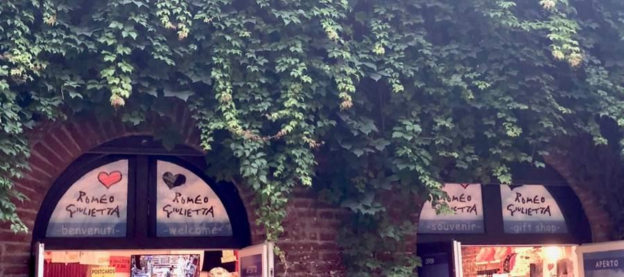 Kommersen lyser i Verona