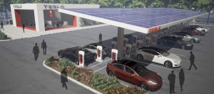 Tesla Super Charging Lounge 2