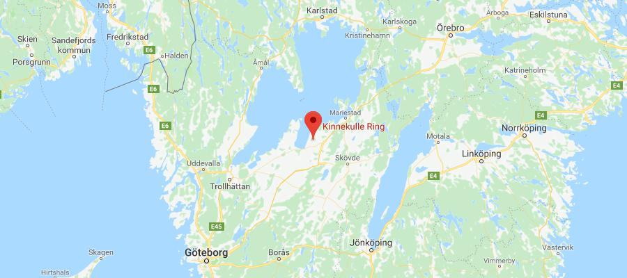 Kinnekulle_map