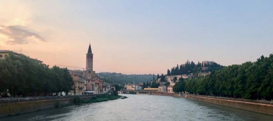 Verona ligger vackert