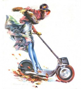autoped-girl