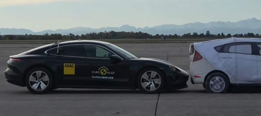 Euro NCAP Taycan