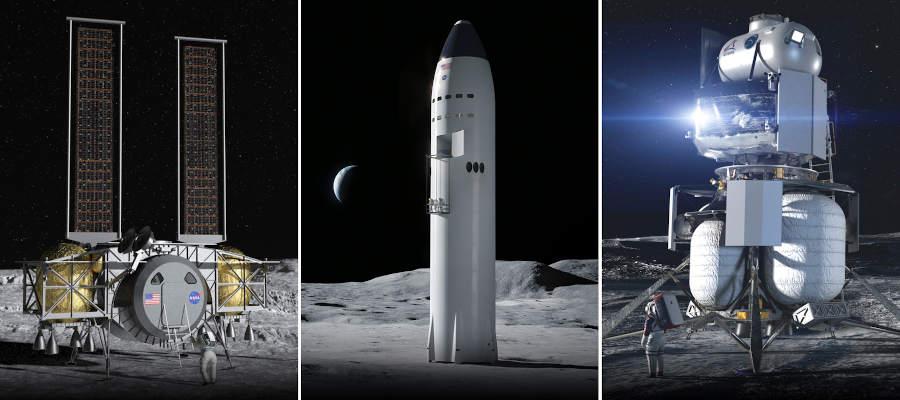 Dynetics_SpaceX_BlueOrigin
