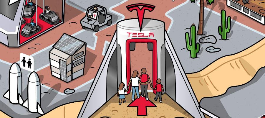 Tesla_TP_entrance